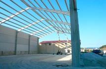 Naves y Sede Social de Cooperativa de 1500 m2 en Cespedosa de Tormes (Salamanca).